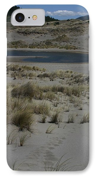 IPhone Case featuring the photograph No One Is Around by Marie Neder