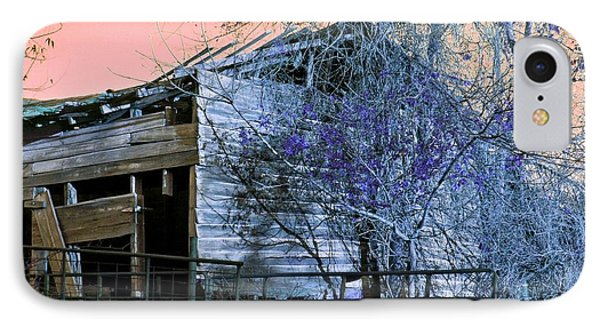 IPhone Case featuring the photograph No Ordinary Barn by Betty Northcutt