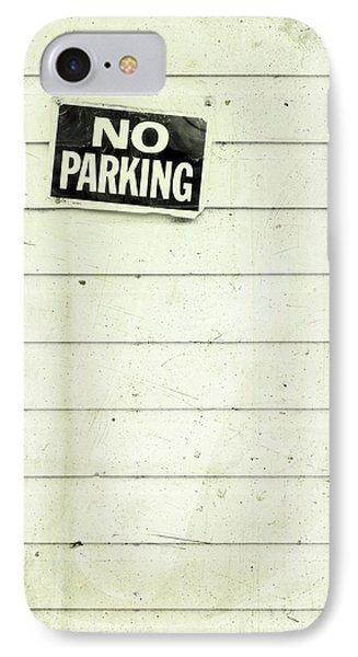 No Parking Phone Case by Priska Wettstein