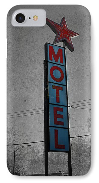 No Tell Motel IPhone Case by Jerry Cordeiro