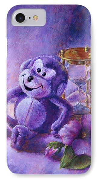 No Time To Monkey Around IPhone Case by Retta Stephenson