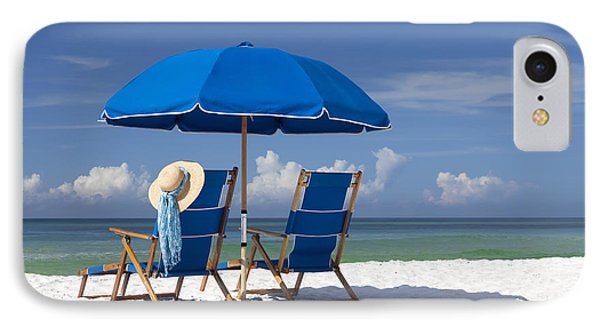 Beach iPhone 7 Case - No Worries by Janet Fikar