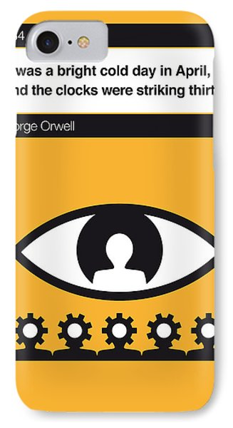 No008 My 1984 Book Icon Poster IPhone Case