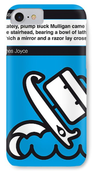 No021-my-ulysses-book-icon-poster IPhone Case