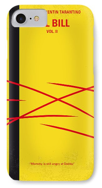 No049 My Kill Bill-part2 Minimal Movie Poster IPhone Case by Chungkong Art