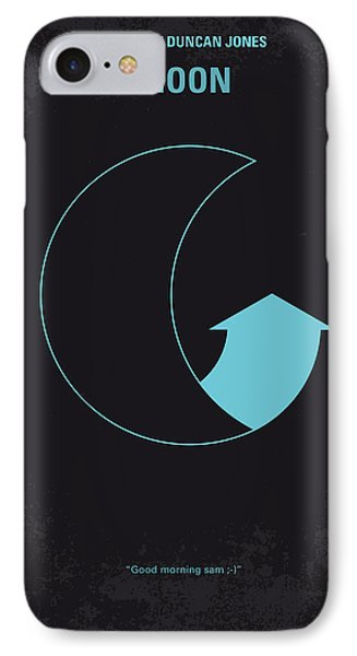 No053 My Moon 2009 Minimal Movie Poster IPhone Case by Chungkong Art