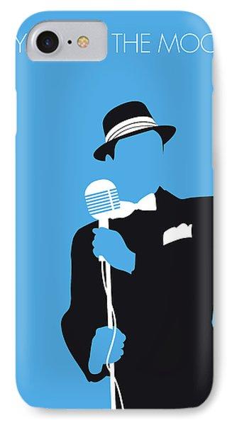 No059 My Sinatra Minimal Music Poster IPhone Case
