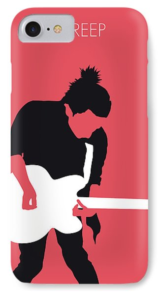 No062 My Radiohead Minimal Music Poster IPhone Case by Chungkong Art