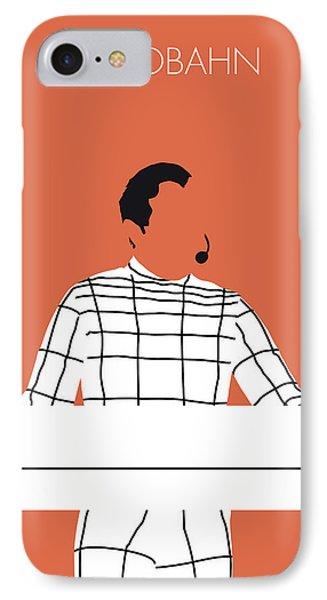 No063 My Kraftwerk Minimal Music Poster IPhone Case by Chungkong Art
