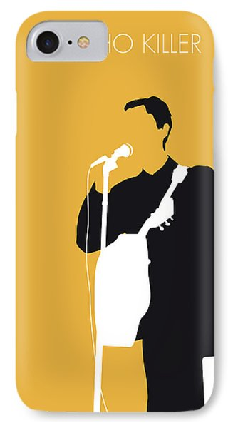 No064 My Talking Heads Minimal Music Poster IPhone Case