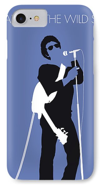 No068 My Lou Reed Minimal Music Poster IPhone Case