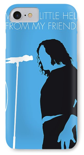 No069 My Joe Cocker Minimal Music Poster IPhone Case