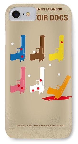 No069 My Reservoir Dogs Minimal Movie Poster IPhone Case