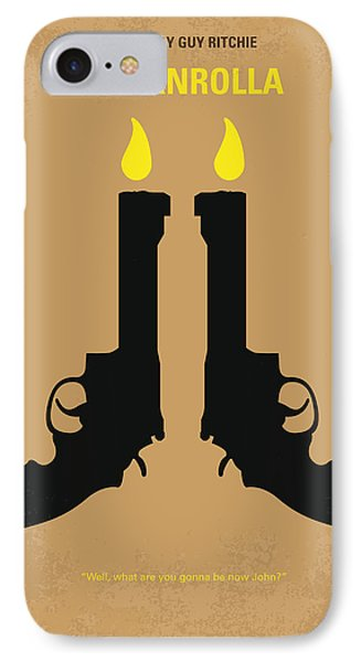 No071 My Rocknrolla Minimal Movie Poster IPhone Case by Chungkong Art