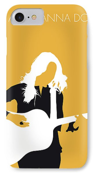 No074 My Sheryl Crow Minimal Music Poster IPhone Case by Chungkong Art