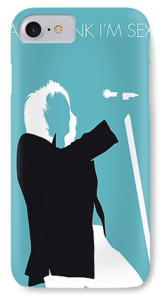 No075 My Rod Stewart Minimal Music Poster IPhone Case by Chungkong Art