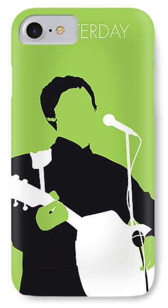 No076 My Paul Mccartney Minimal Music Poster IPhone Case by Chungkong Art