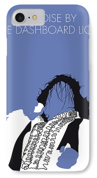 No078 My Meat Loaf Minimal Music Poster IPhone Case by Chungkong Art