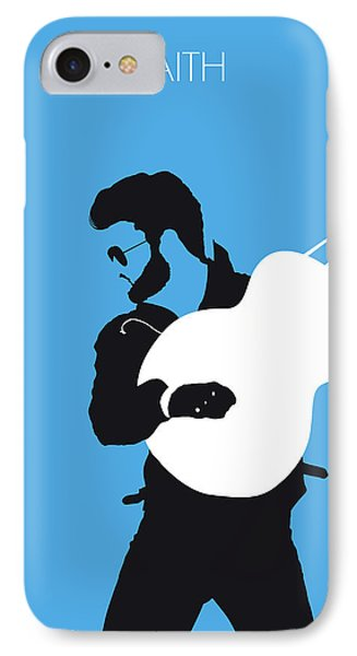 Rhythm And Blues iPhone 7 Case - No089 My George Michael Minimal Music Poster by Chungkong Art