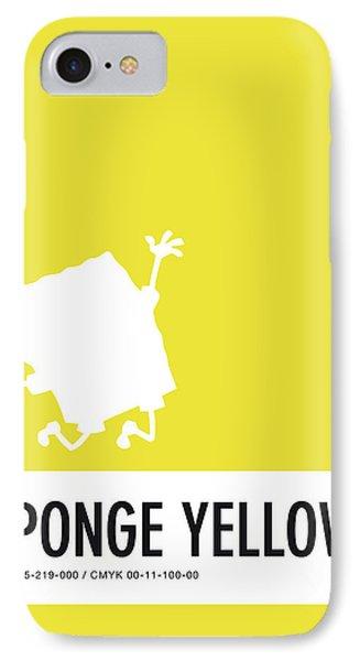 No10 My Minimal Color Code Poster Spongebob IPhone 7 Case