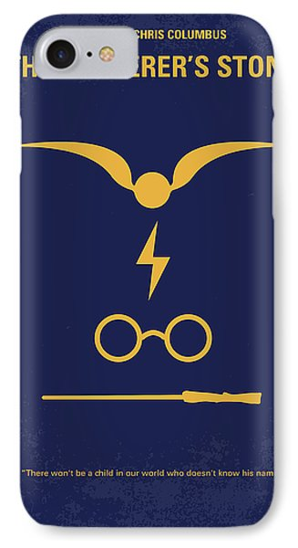 No101 My Harry Potter Minimal Movie Poster Phone Case by Chungkong Art