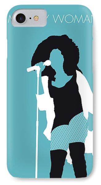 Rhythm And Blues iPhone 7 Case - No155 My Chaka Khan Minimal Music Poster by Chungkong Art
