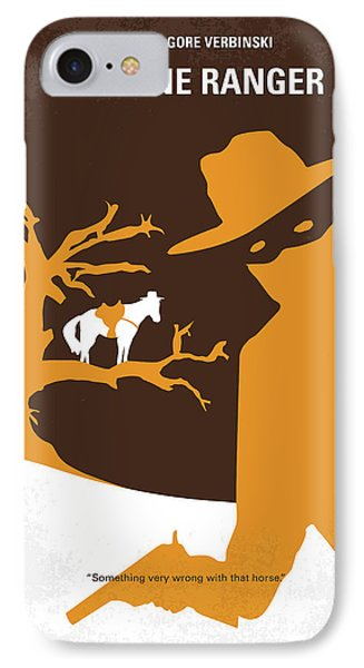 No202 My The Lone Ranger Minimal Movie Poster IPhone 7 Case