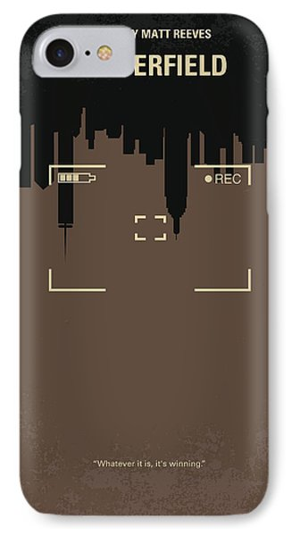 No203 My Cloverfield Minimal Movie Poster Phone Case by Chungkong Art