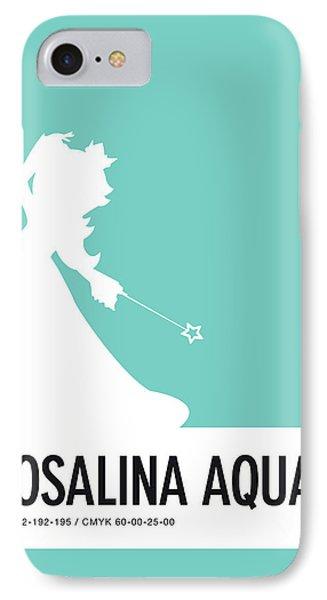 Daisy iPhone 7 Case - No39 My Minimal Color Code Poster Rosalina by Chungkong Art