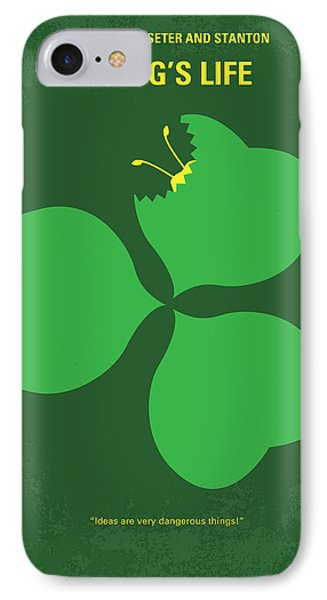No401 My A Bugs Life Minimal Movie Poster IPhone Case by Chungkong Art