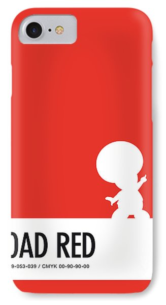 No41 My Minimal Color Code Poster Toad IPhone Case