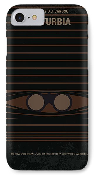 No457 My Disturbia Minimal Movie Poster IPhone Case by Chungkong Art