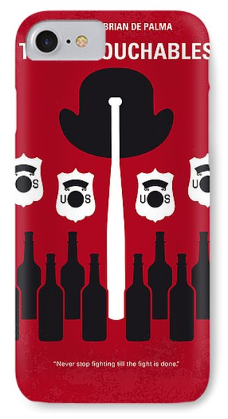 No463 My The Untouchables Minimal Movie Poster IPhone Case