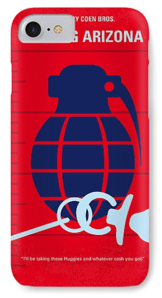 No477 My Raising Arizona Minimal Movie Poster IPhone Case