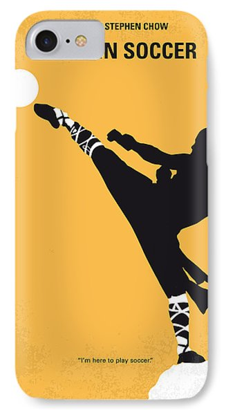 No480 My Shaolin Soccer Minimal Movie Poster IPhone Case by Chungkong Art