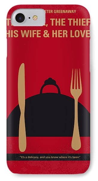 No487 My The Cook The Thief His Wife And Her Lover Minimal Movie IPhone Case by Chungkong Art