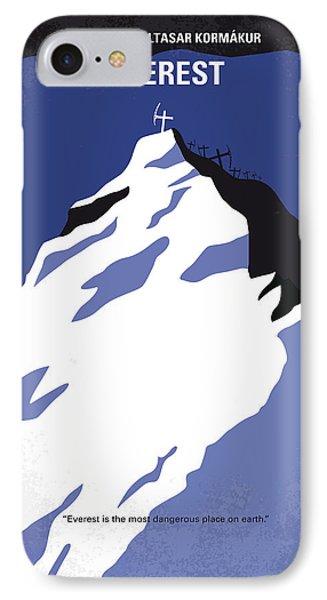 No492 My Everest Minimal Movie Poster IPhone 7 Case