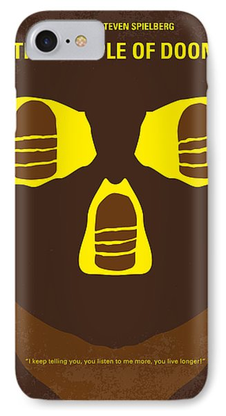 No517 My The Temple Of Doom Minimal Movie Poster IPhone Case by Chungkong Art