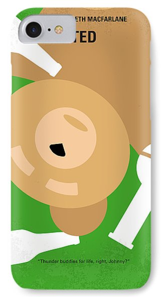 No519 My Ted Minimal Movie Poster IPhone Case by Chungkong Art