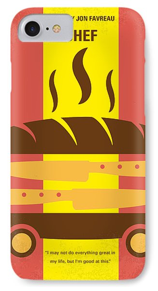 No524 My Chef Minimal Movie Poster IPhone Case by Chungkong Art