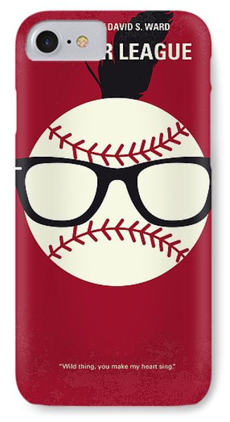 No541 My Major League Minimal Movie Poster IPhone Case by Chungkong Art