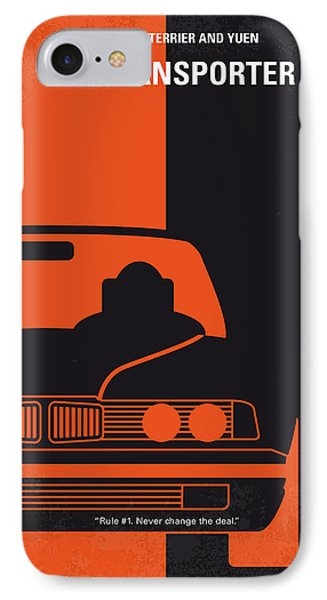No552 My The Transporter Minimal Movie Poster IPhone Case