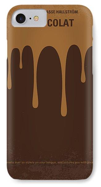 No567 My Chocolat Minimal Movie Poster IPhone Case