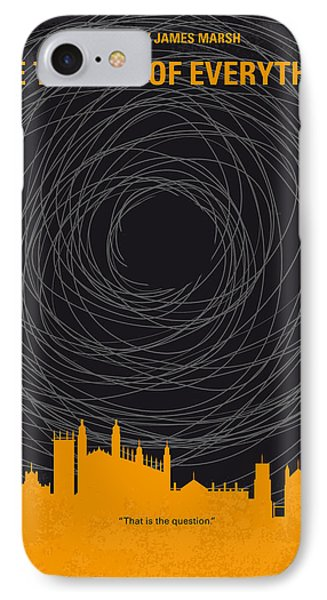 No568 My The Theory Of Everything Minimal Movie Poster IPhone Case