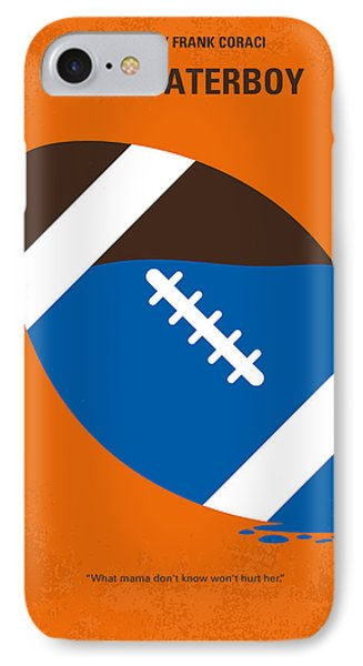 No580 My The Waterboy Minimal Movie Poster IPhone Case by Chungkong Art