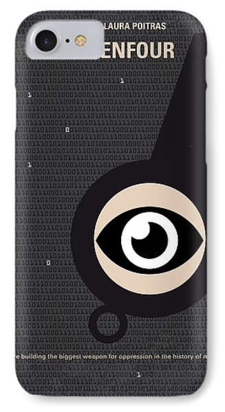 No598 My Citizenfour Minimal Movie Poster IPhone 7 Case by Chungkong Art
