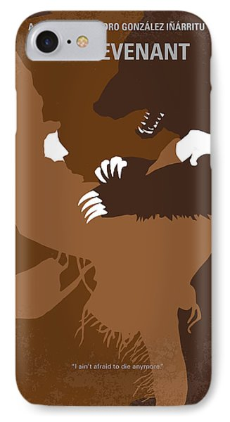 No623 My The Revenant Minimal Movie Poster IPhone Case