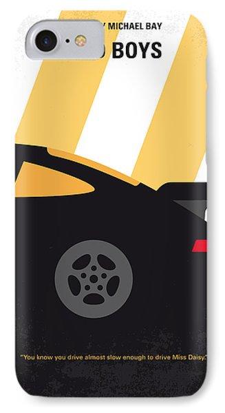 No627 My Bad Boys Minimal Movie Poster IPhone 7 Case