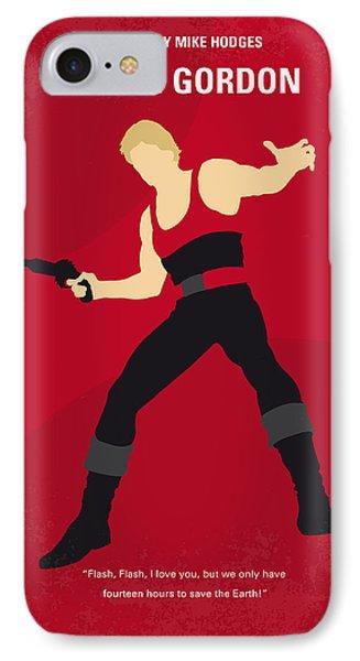 No632 My Flash Gordon Minimal Movie Poster IPhone Case by Chungkong Art
