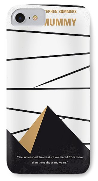 No642 My The Mummy Minimal Movie Poster IPhone Case by Chungkong Art